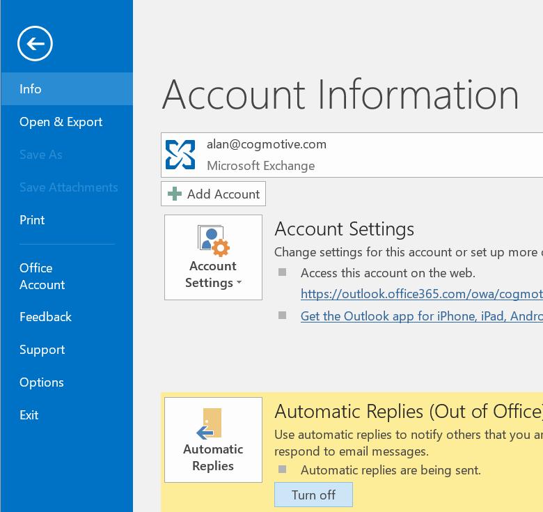 Outlook 2016'da Donma ve Çökme Problemlerinin Çözümü