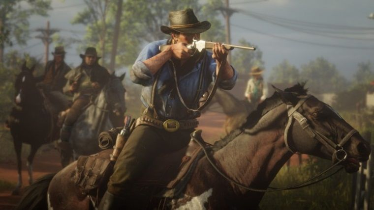 Red Dead Redemption 2'nin PS4 Pro'da 4K Olacak!