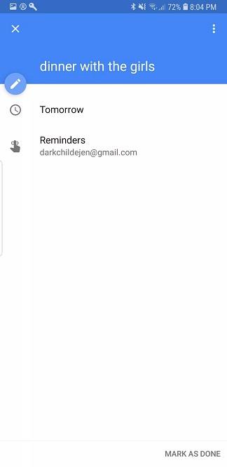Google Hatırlatıcılar'ı Kullanmak