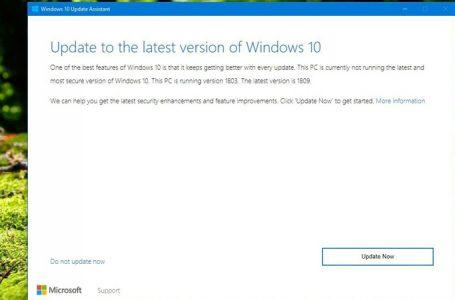 Güncelleme Yardımcısı ile Windows 10 1909 Sürümüne Yükseltmek