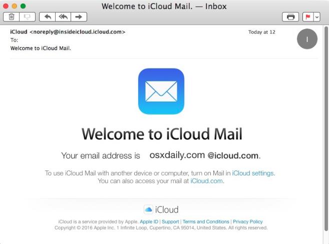 iCloud Mail - Ücretsiz E-posta Servisi