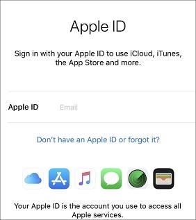 iPhone veya iPad'de Apple ID Oluşturmak