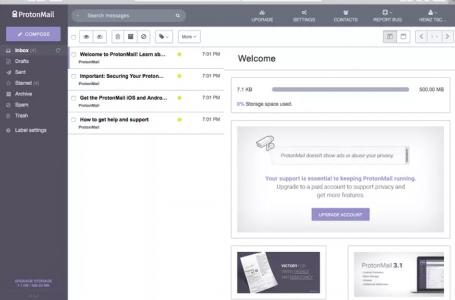 ProtonMail İncelemesi – Ücretsiz Güvenli E-posta Servisi
