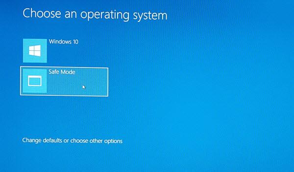 Windows 10'da Önyükleme Menüsüne Güvenli Mod Eklemek