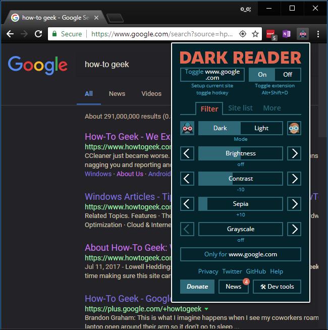 Google Chrome için Karanlık Modu Etkinleştirmek