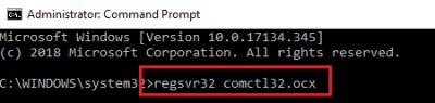 Comctl32.ocx Hatasının Çözümü