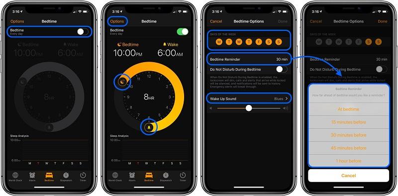 iPhone ve iPad'te Yatma Zamanı Nedir?