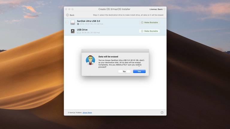 macOS Mojave USB'den Yükleme Adımları