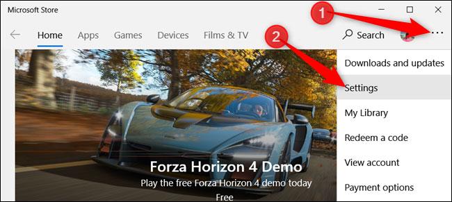 Microsoft Store için Otomatik Uygulama Güncelleştirme Kapatmak