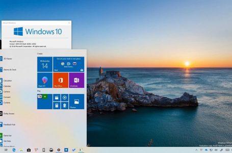 Windows 10 Mayıs 2019 Güncellemesi Minimum Sistem Gereksinimleri
