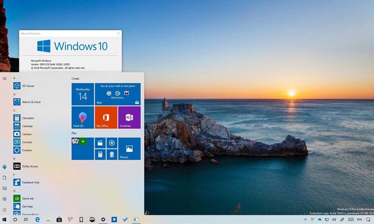 Windows 10 Yapı 18282 (1903) Yeni Özelliklerle Beraber Çıktı