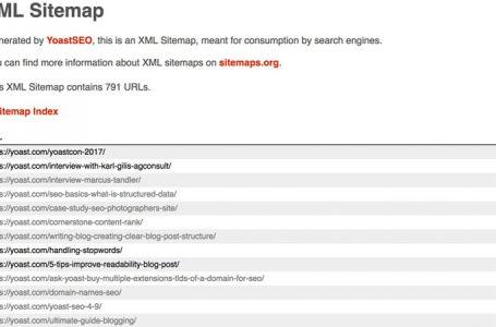 XML Sitemap Nedir? WordPress'te Sitemap Nasıl Oluşturulur?