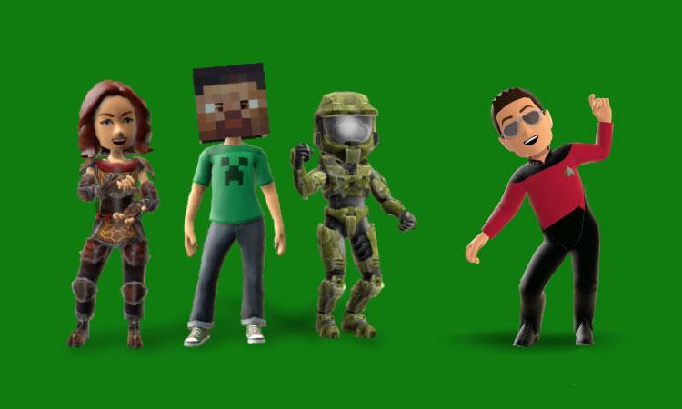 Xbox One'da Xbox Avatarı Oluşturmak