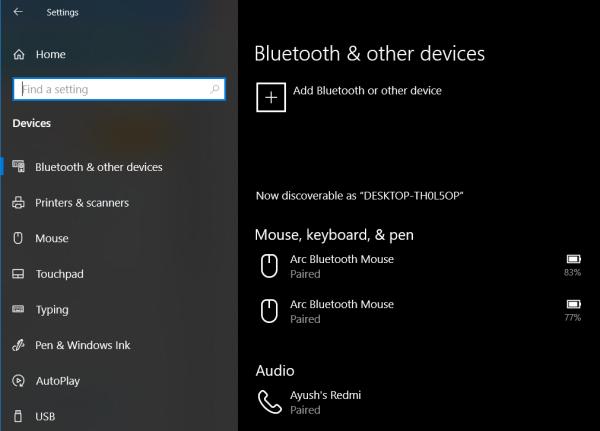 Bluetooth Açma ve Kapama Seçeneği Yok