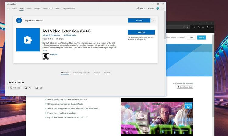 Windows 10'da AV1 Video Desteği Nasıl Etkinleştirilir?