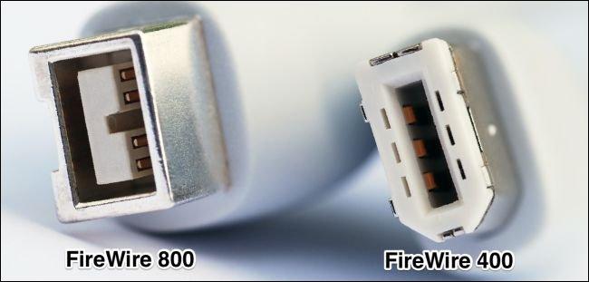 FireWire 800 vs. 400