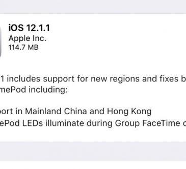 Apple iOS 12.1.1 Çıktı! İşte Tüm Yenilikler!
