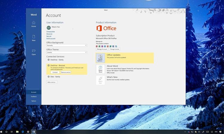 Windows 10 için Microsoft Office Güncelleme Kapatma Adımları