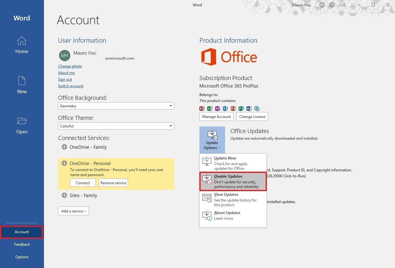 Microsoft Office için Otomatik Güncellemeler Nasıl Devre Dışı Bırakılır ?