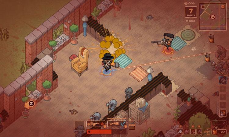 Battle Royale Oyunu Rapture Rejects Steam'de Erken Erişime Açıldı