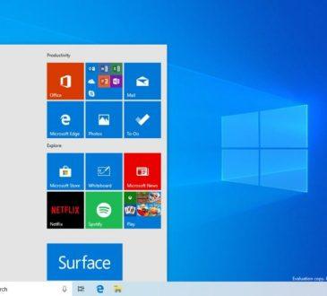 Windows 10 Sürüm 1903 Yapı 18305
