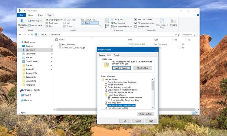 Windows 10'da Dosya Uzantıları Nasıl Gösterilir?