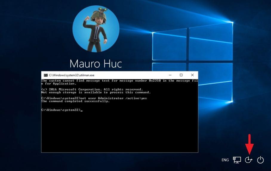 Windows 10 Yönetici Hesabını Aktifleştirme