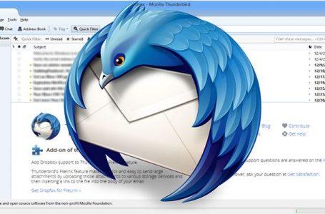 Mozilla 2019'da Thunderbird için Yerel Bildirimler ve UI Geliştirmeleri Planlıyor