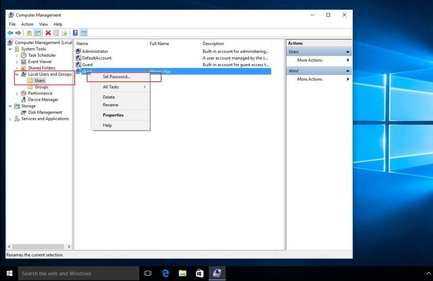 Windows 10 Şifre Sıfırlama