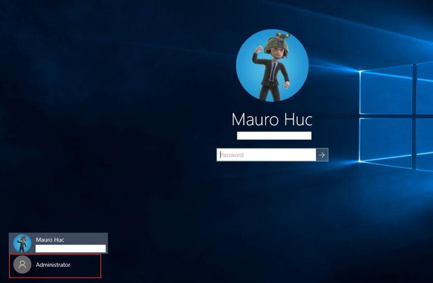 Windows 10 Hesap Listesi