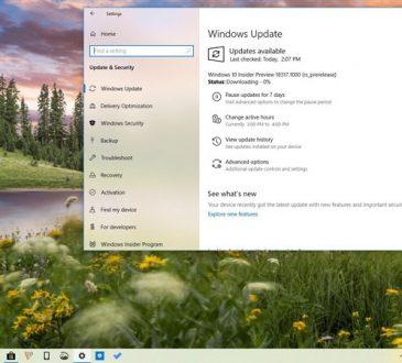 Windows 10 Yapı 18317 (1903) Yeni Özelliklerle Beraber Çıktı