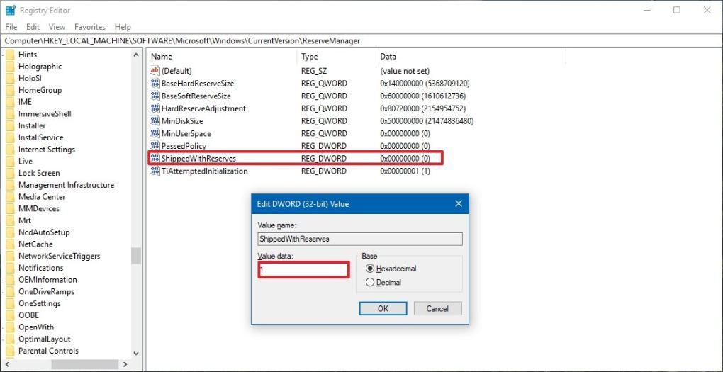Windows 10'da Ayrılmış Depolama Nasıl Etkinleştirilir?