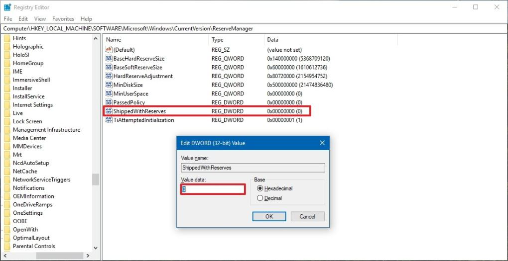Windows 10'da Ayrılmış Depolama Nasıl Devre Dışı Bırakılır?