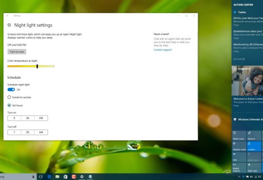 Windows 10'da Gece Işığı Nasıl Etkinleştirilir?
