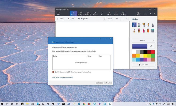 Windows 10 Sürüm 1903 ile Kaldırılan Özellikler