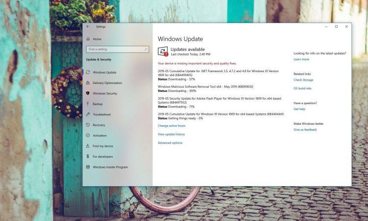 Windows 10 KB4494441 Güncellemesi Yayınlandı (17763.503)