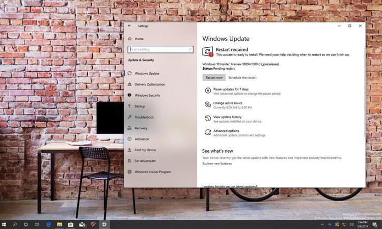 Windows 10 Yapı 18894 (2003) Yeni Özelliklerle Beraber Çıktı
