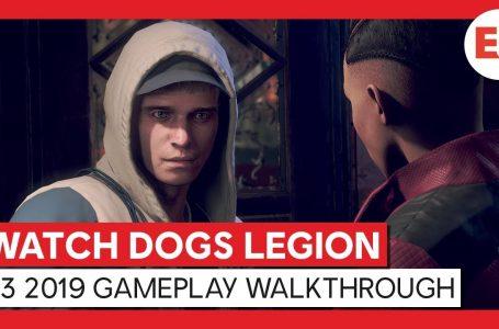 Watch Dogs Legion için Oynanış Videosu Yayınlandı