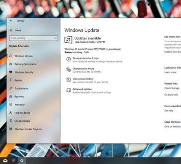 Windows 10 Yapı 18917 (2003) Yeni Özelliklerle Beraber Çıktı