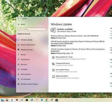 Windows 10 KB4503293 Güncellemesi 1903 Sürümü için Yayınlandı (18362.175)