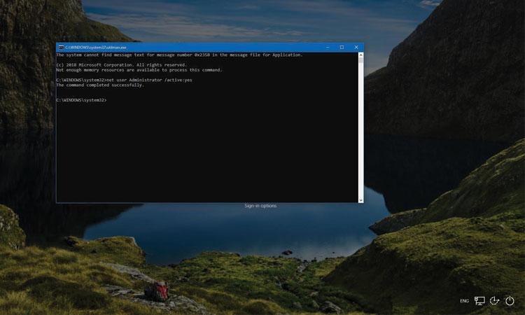 Windows 10 Şifre Sıfırlama Adımları