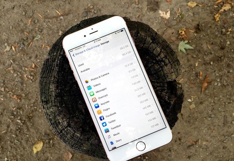 iPhone Boş Alan Açma Adımları