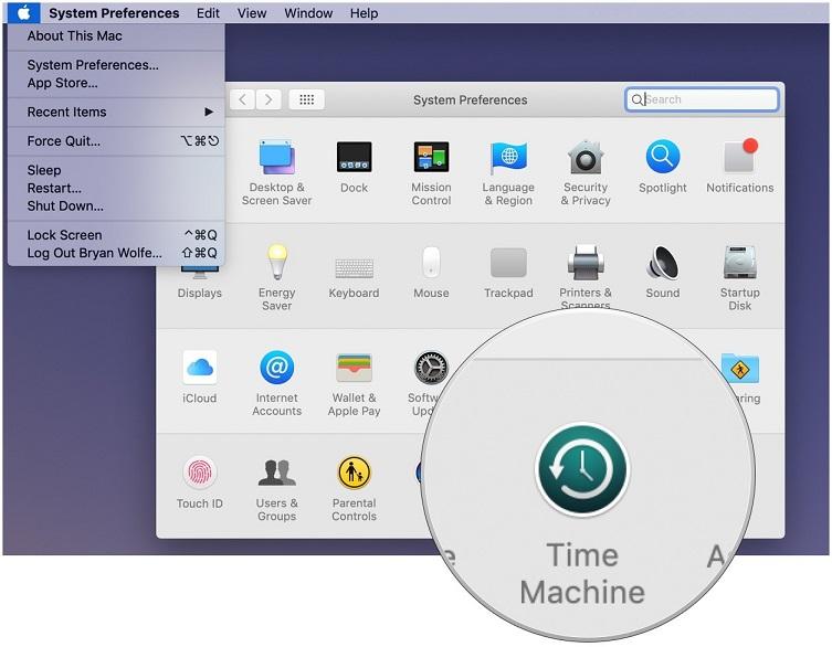 Mac'de Time Machine Yedeklemesi Etkinleştirme
