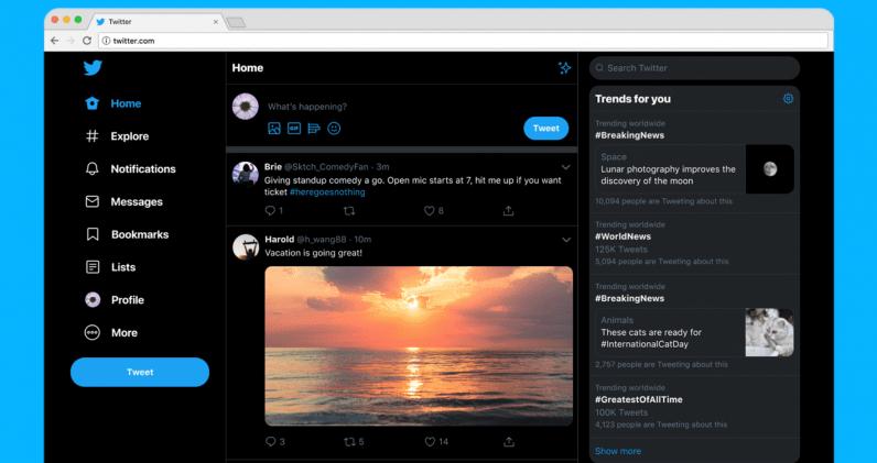 Twitter, Yeni Renk Temalarıyla Birlikte Tasarımını Yeniliyor