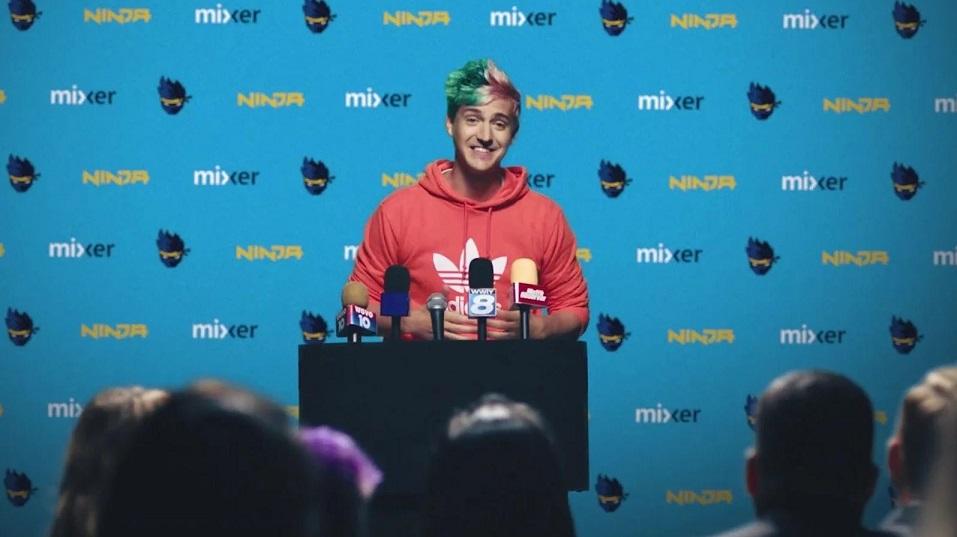 Ninja 1 milyon Mixer abonesine ulaştı