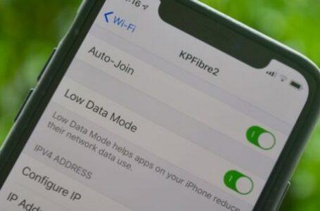 iPhone Düşük Veri Modu Açma ve Kapatma