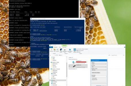 Windows 10 USB formatlama adımları