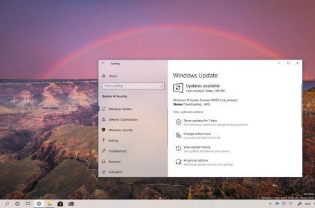 Windows 10 2004 Güncellemesi için 19025 Yayınlandı