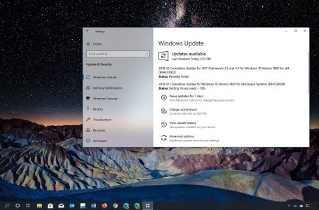 Windows 10 1909 Kasım Güncellemesi için KB4530684 Yayınlandı