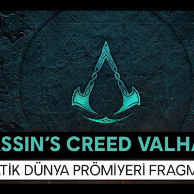 Assassin's Creed Valhalla için sinematik fragman yayınlandı